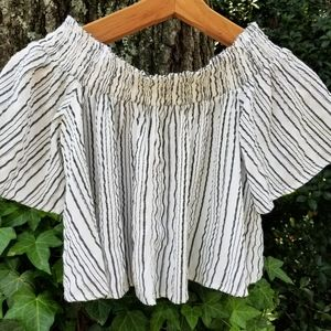 Urban Outfitters Off Shoulder Top,  S